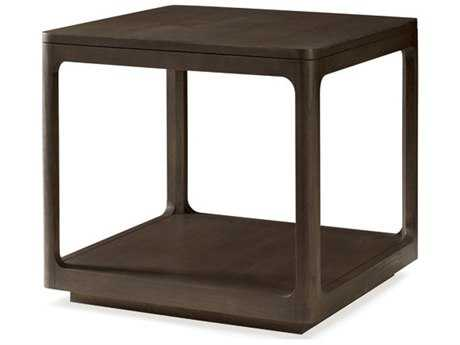 Brownstone Furniture Messina 26'' Square Smokey Brown End Table BRNME503