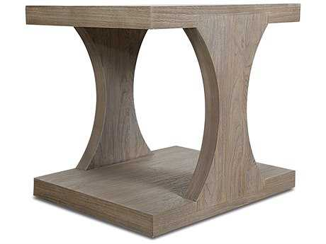 Brownstone Furniture Palmer 26''L x 22''W Rectangular Driftwood End Table BRNPL503