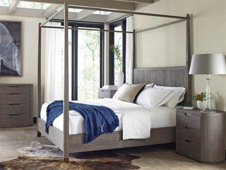 Brownstone Furniture Palmer Driftwood Queen Size Platform Bed BRNPL005