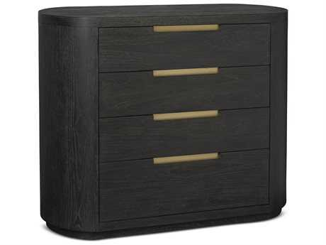 Brownstone Furniture Palmer 45''W x 19''D Rectangular Mink Nightstand BRNPLM003
