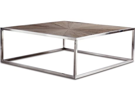 Brownstone Furniture Piedmont 47'' Square Natural Elm Coffee Table BRNPD502