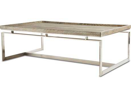 Brownstone Furniture Pierce 52''L x 32''W Rectangular Cerused Sand Coffee Table BRNPI502