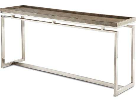 Brownstone Furniture Pierce 63''L x 16''W Rectangular Cerused Sand Console Table BRNPI501