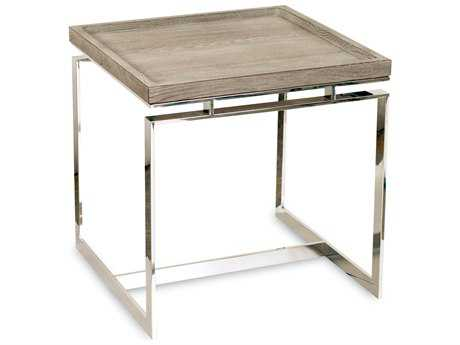 Brownstone Furniture Pierce 24'' Square Cerused Sand End Table BRNPI500