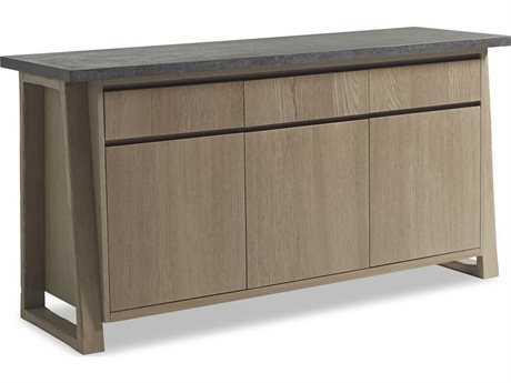 Brownstone Furniture Saratoga Smoke & Driftwood 68''L x 22''W Rectangular Sever BRNSR305