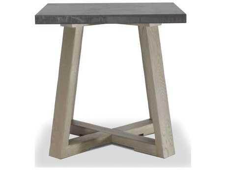 Brownstone Furniture Saratoga 24''Square Smoke & Driftwood Gray End Table