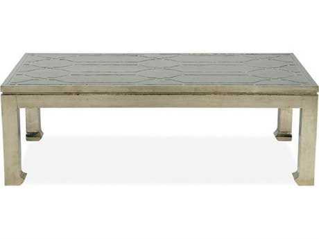 Brownstone Furniture Treviso 52''L x 28''W Rectangular German Silver Coffee Table BRNTR505