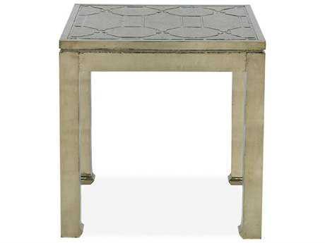 Brownstone Furniture Treviso 24'' Square German Silver End Table BRNTR503
