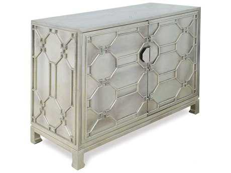 Brownstone Furniture Treviso 45''L x 19''W German Silver Chest Cabinet