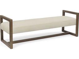 Wilson Beach / Pecan Accent Bench