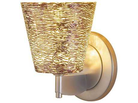 Bruck Lighting Bling Silver Glass LED Wall Sconce BK104842