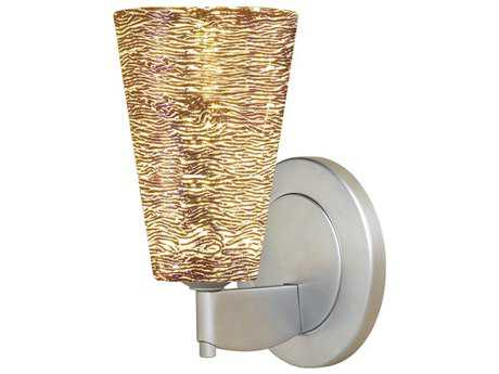 Bruck Lighting Bling Silver Glass LED Wall Sconce BK104845