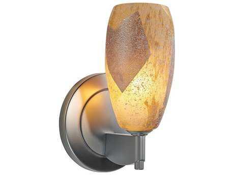 Bruck Lighting Ciro Gold Leaf Glass LED Wall Sconce BK104831