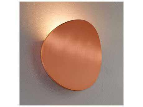Bruck Lighting Lunaro Brushed Copper LED Wall Sconce BK103060CP
