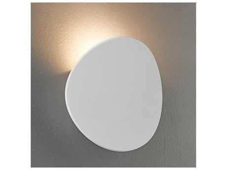 Bruck Lighting Lunaro Textured White LED Wall Sconce BK103060WH