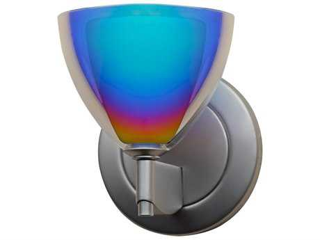 Bruck Lighting Rainbow Sunset Glass LED Wall Sconce BK104908