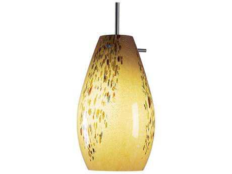Bruck Lighting Soho Vanilla Glass 6'' Wide Incandescent Mini Pendant Light BK110812IN