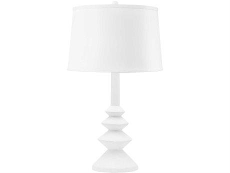 Bungalow 5 White Buffet Lamp BUNERN800809