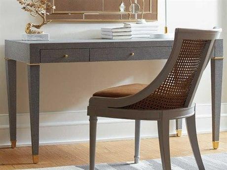 Bungalow 5 Claudette Gray 54''W x 26''D Rectangular Secretary Desk BUNCLU3505126