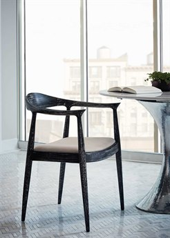 Bungalow 5 Danish Black Dining Arm Chair BUNDAN55591