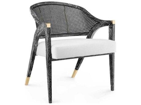 Bungalow 5 Edward Black Accent Lounge Chair BUNEWD55591