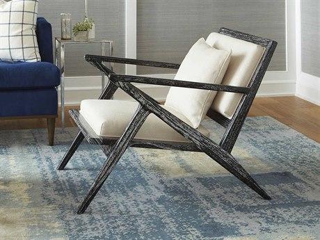 Bungalow 5 Ethan Black Accent Lounge Chair BUNETH55591