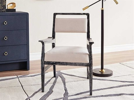 Bungalow 5 James Black Dining Arm Chair BUNJAM55591