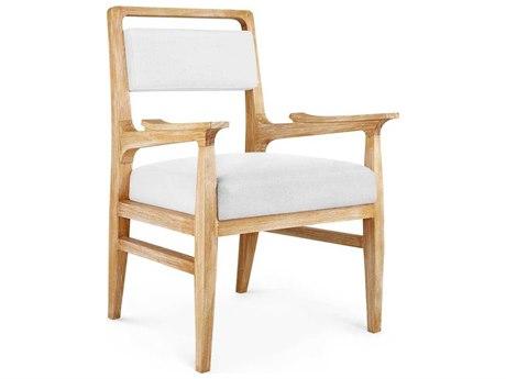 Bungalow 5 James Natural Dining Arm Chair BUNJAM55598