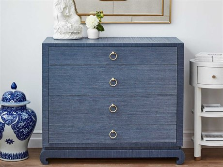 Bungalow 5 Ming Navy Blue Four-Drawer Single Dresser BUNMNG22568