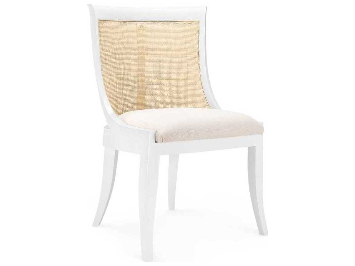 Incredible Bungalow 5 Monaco White Dining Side Chair Unemploymentrelief Wooden Chair Designs For Living Room Unemploymentrelieforg