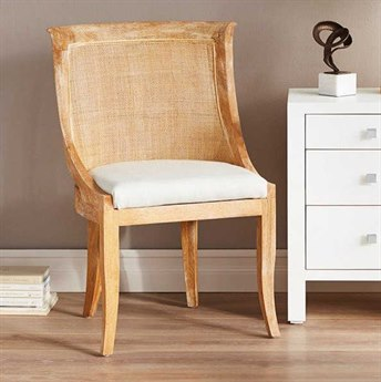 Bungalow 5 Monaco Natural Dining Side Chair BUNMON55598