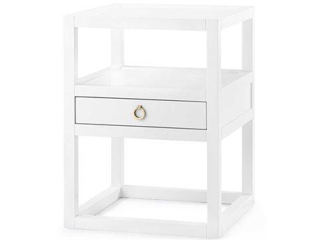 Bungalow 5 White 1 Drawer Nightstand BUNNEW11009