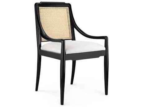 Bungalow 5 Veronika Black Dining Arm Chair BUNVER55501