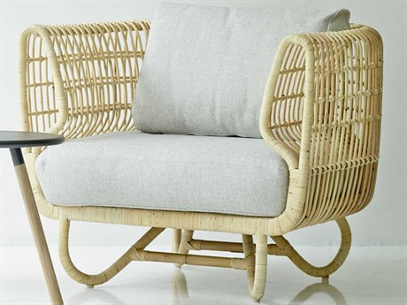Cane Line Indoor Nest Natural Accent Chair