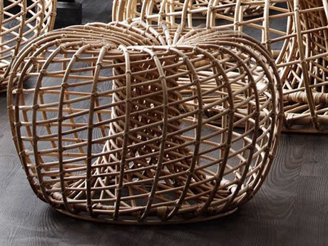 Cane Line Indoor Nest Natural Ottoman