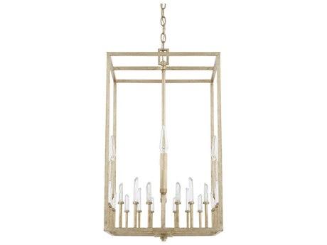 Capital Lighting Adira Winter Gold Four-Lights 15'' Wide Mini Chandelier