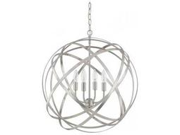 Axis Brushed Nickel Four-Light 23'' Wide Chandelier