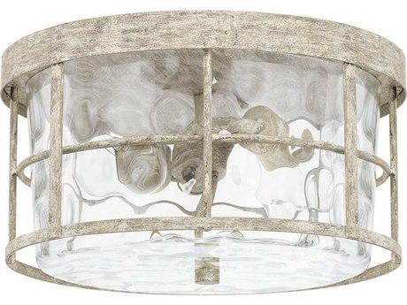 Capital Lighting Beaufort Mystic Sand Two-Lights 13'' Wide Flush Mount Light C2225021MS