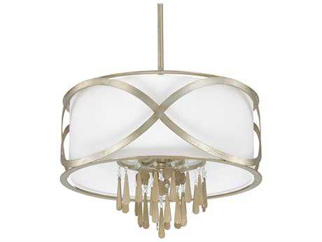Capital Lighting Donny Osmond Home Berkeley Winter Gold Four-Light 21.5'' Wide Pendant Light