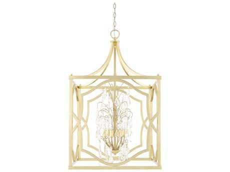 Capital Lighting Blakely Capital Gold Six-Light 23'' Wide Chandelier