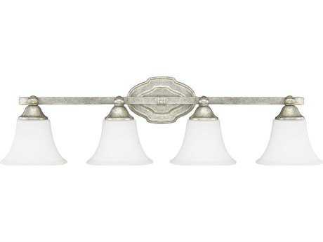Capital Lighting Blakely Antique Silver Four-Light Vanity Light
