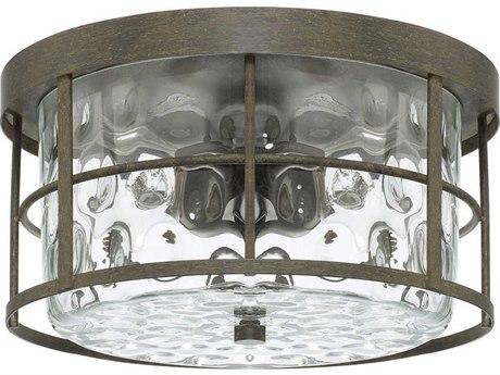 Capital Lighting Bristol Farm House Two-Lights 13'' Wide Flush Mount Light C2225021FH