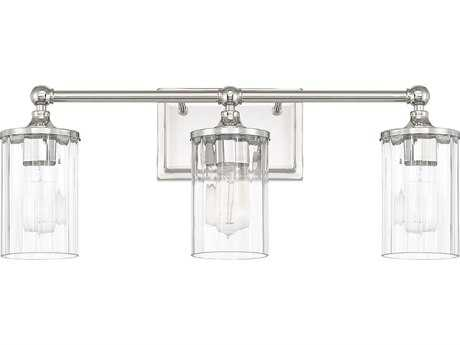 Capital Lighting Camden Polished Nickel Three-Light Vanity Light C2120731PN423