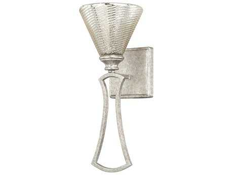Capital Lighting Corrigan Antique Silver with Mercury Glass Wall Sconce C2610911AS315