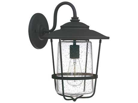 Capital Lighting Creekside Black  11'' Wide Outdoor Wall Light C29602BK