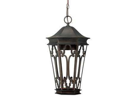 Capital Lighting Dark Sky Old Bronze Outdoor Hanging Lantern C29446OB