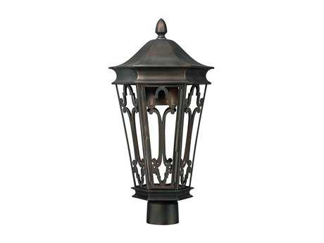 Capital Lighting Dark Sky Old Bronze Outdoor Post Lantern C29445OB