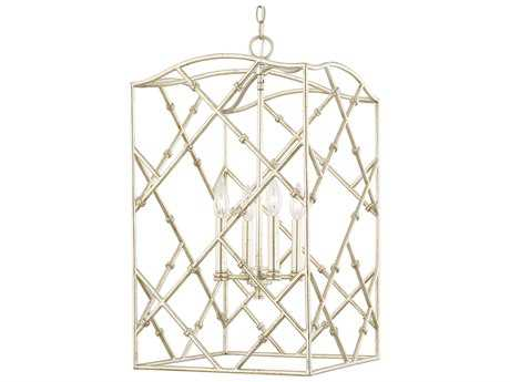 Capital Lighting Foyers Winter Gold Four-Light 15'' Wide Pendant Light