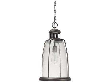 Capital Lighting Harbour Graphite 10.5'' Wide Outdoor Hanging Light C29636GR