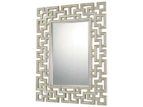 Capital Lighting 46''W x 35''H Rectangular Decorative Wall Mirror C2723701MM